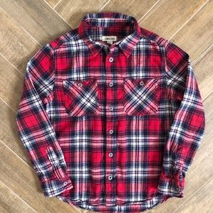 Boys Flannel shirt- Cherokee size M (8/10)